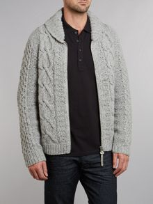 Cable zip through jumper