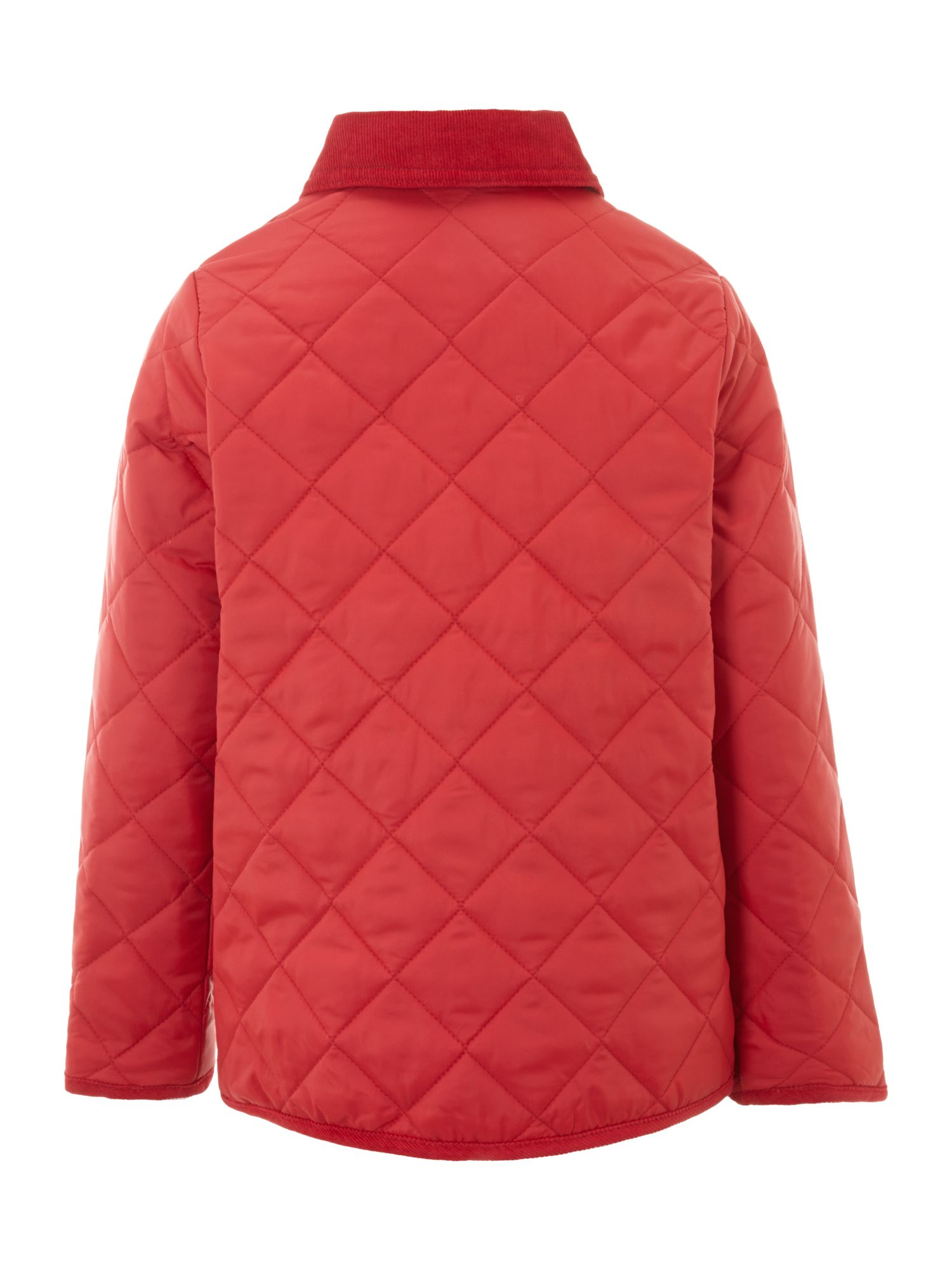Boy`s classic quilted jacket