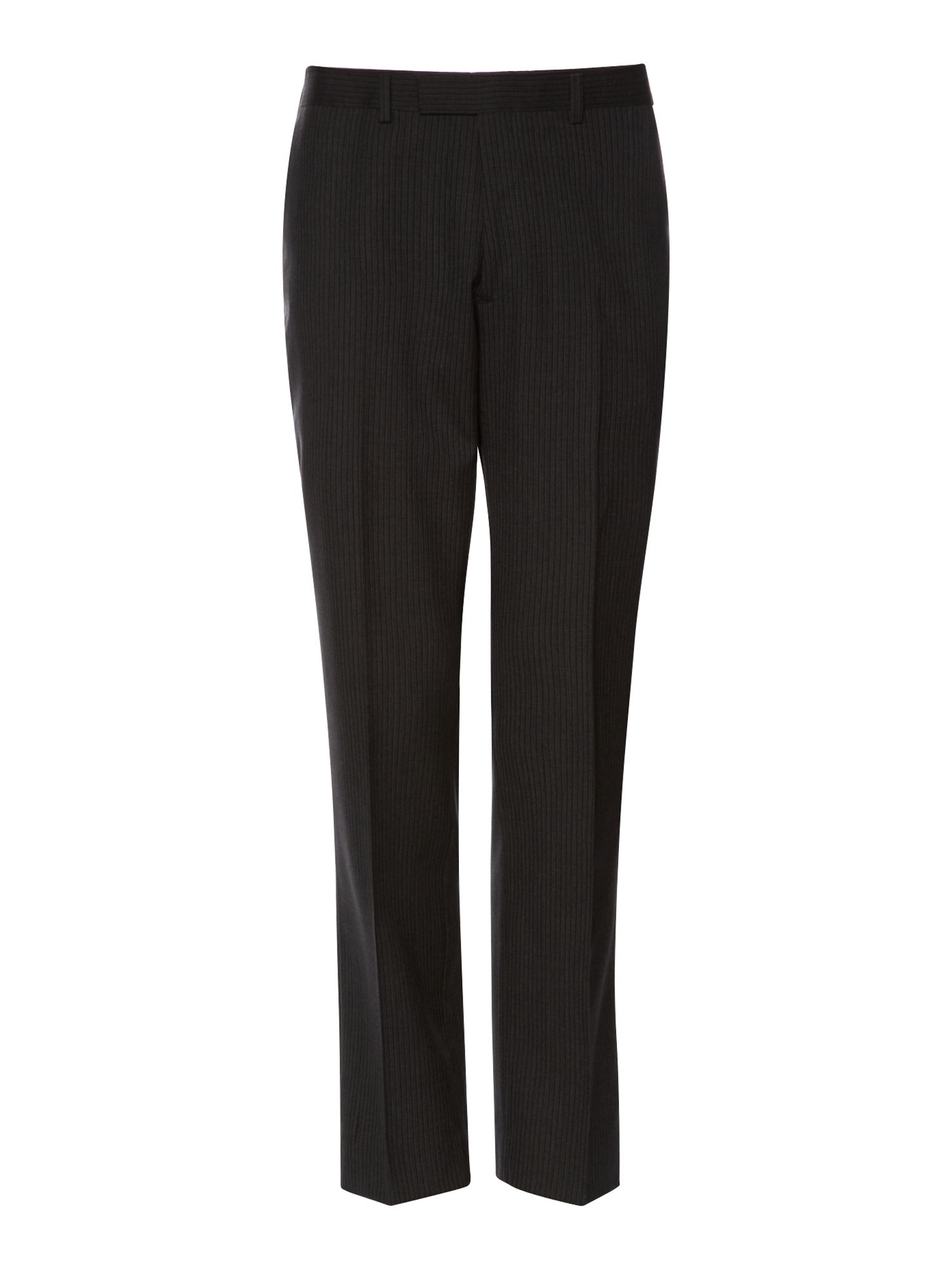 Ive two colour stripe suit trouser