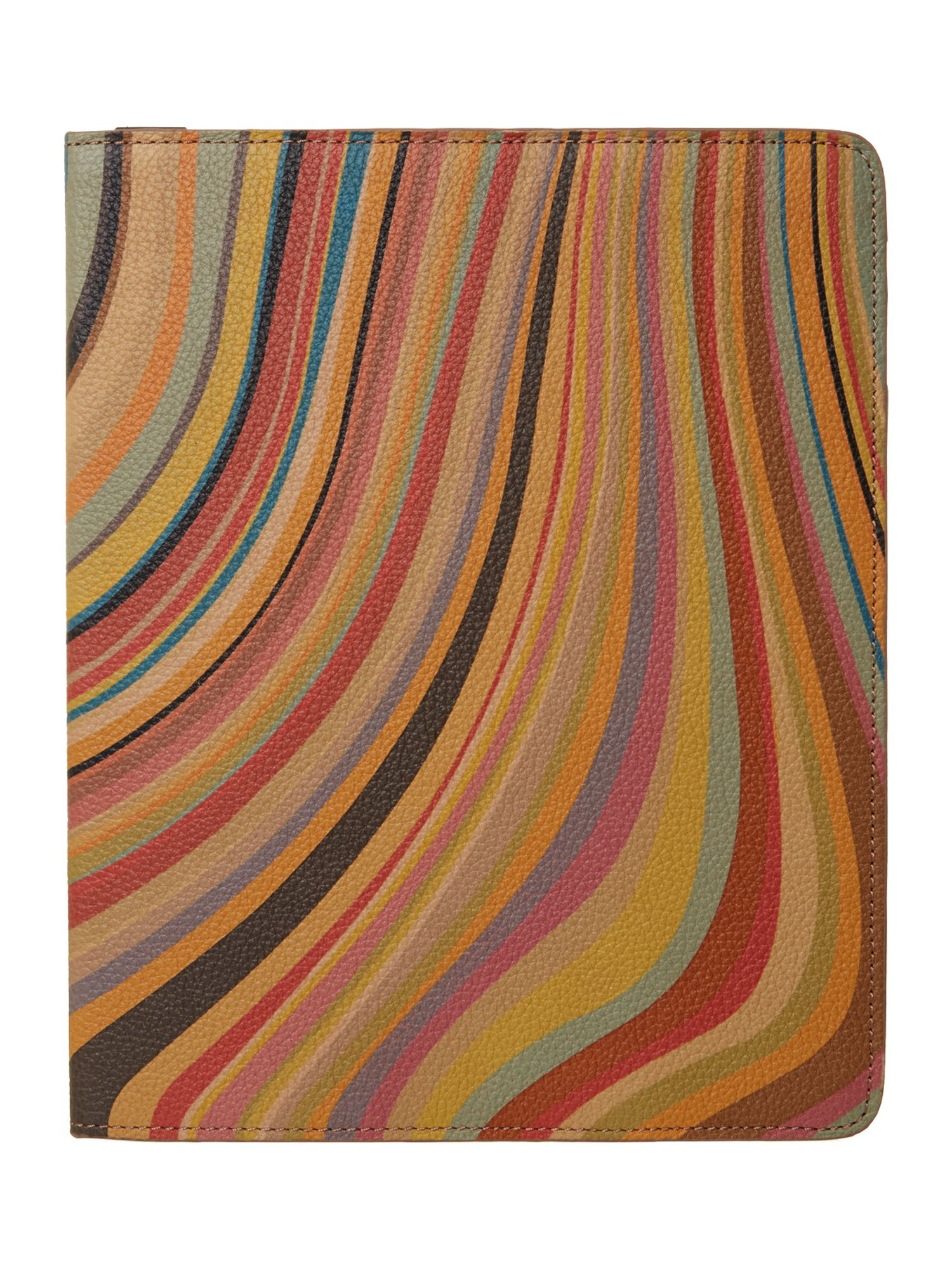 Swirl print iPad cover