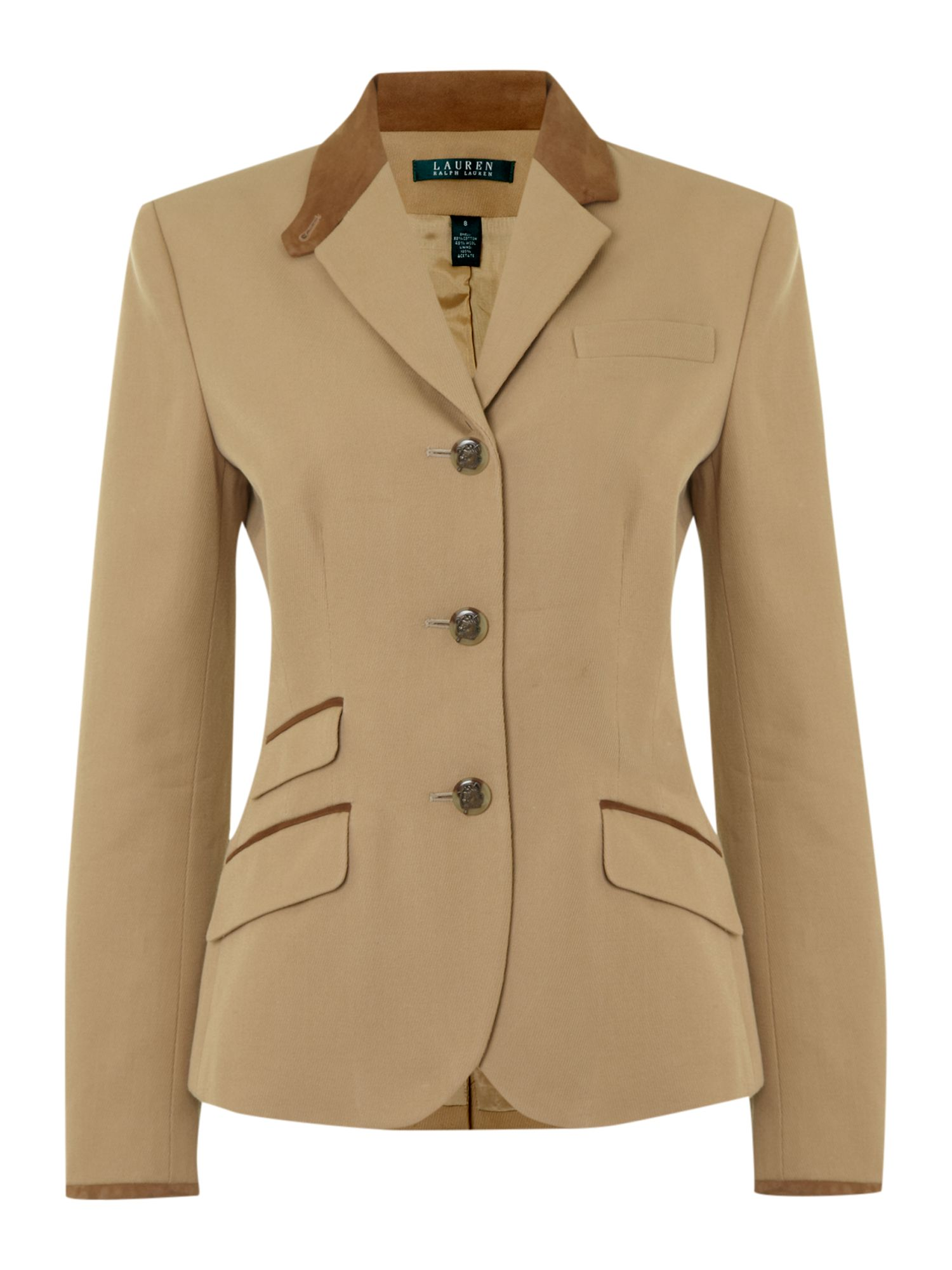 Jacket with 3 Button detail