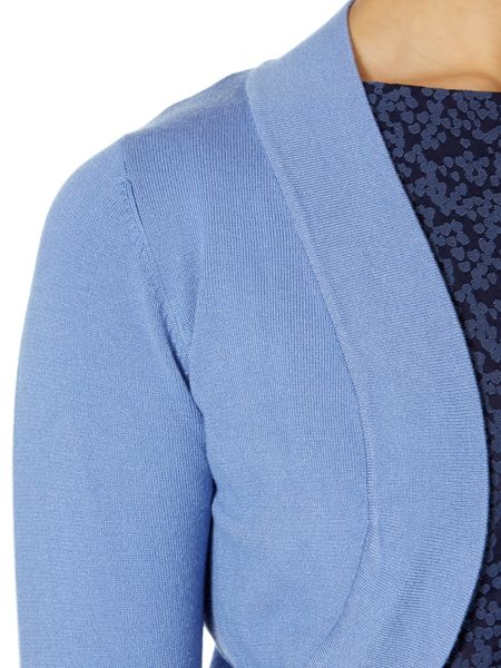 Linea Essential shrug 3/4 sleeve