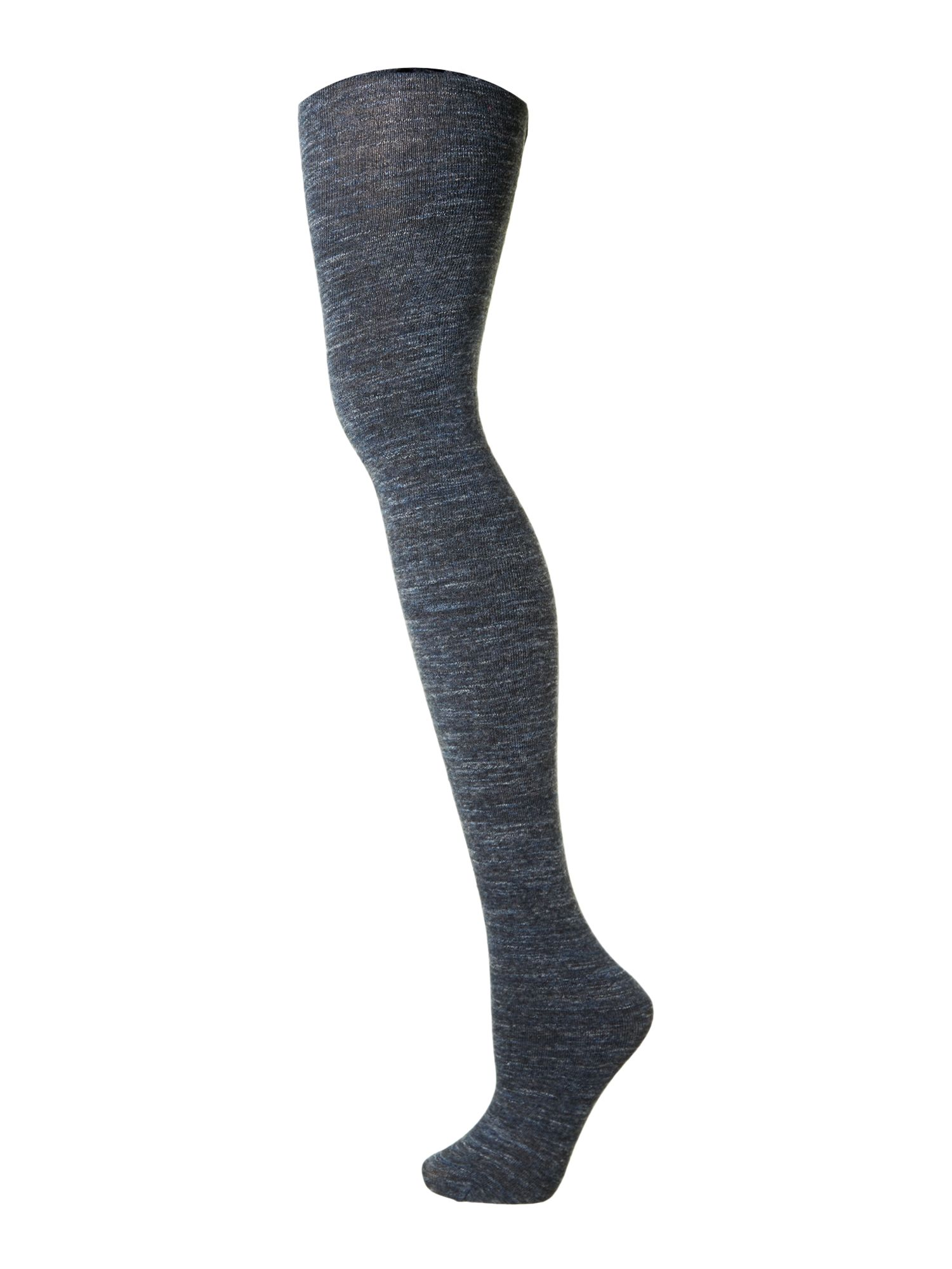 Cotton marl tights