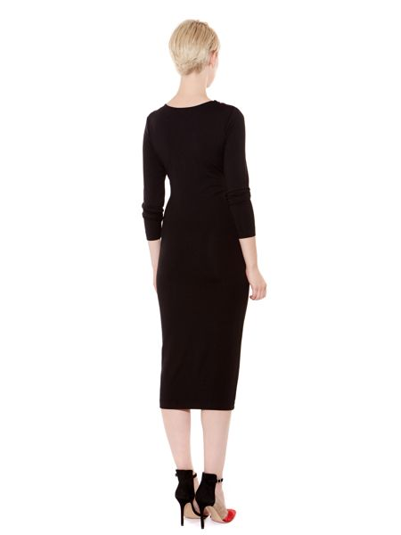Pied a Terre Beaded jersey dress