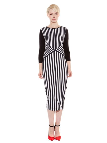 Pied a Terre Printed Jersey Dress