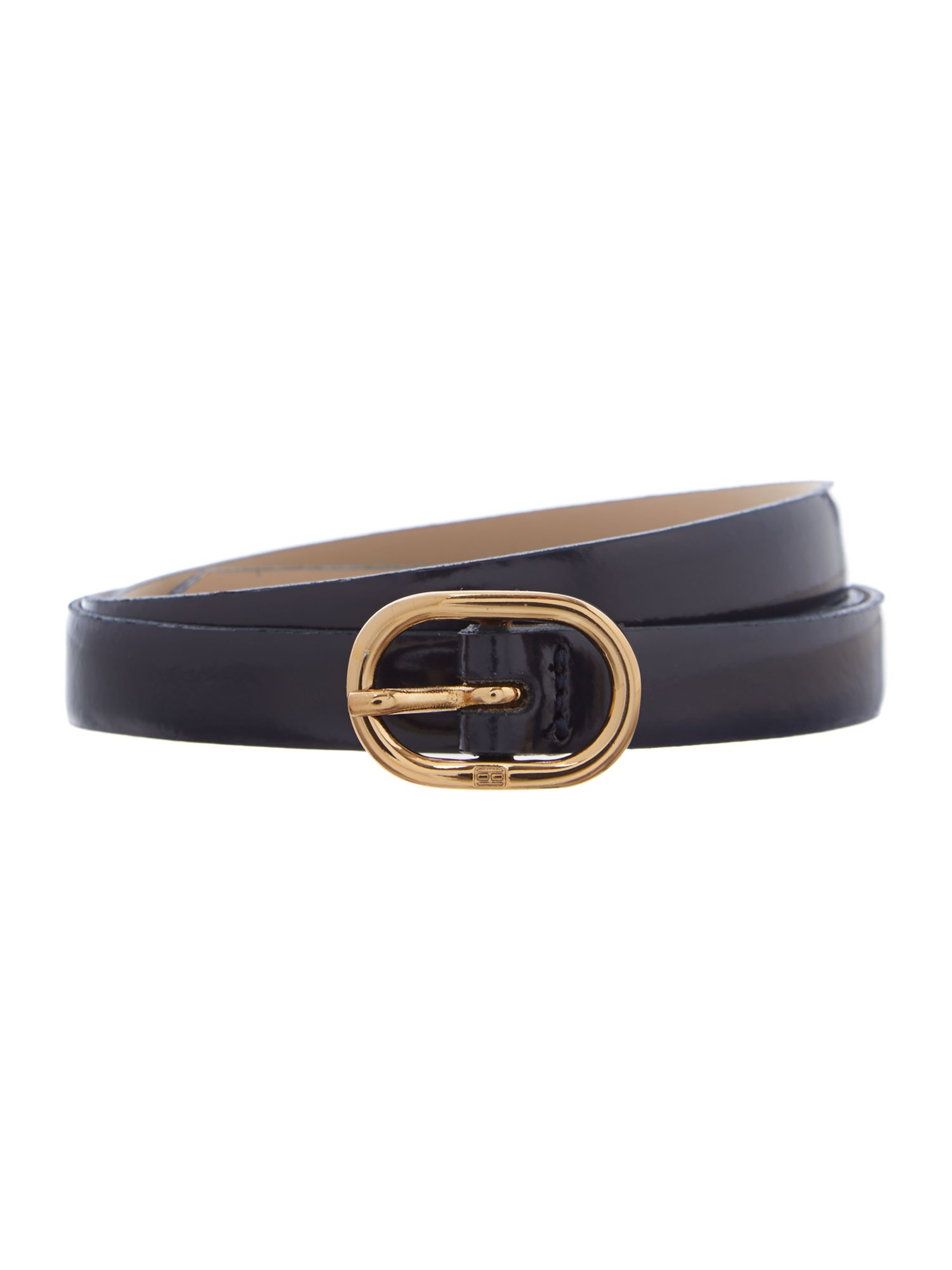 Tinsley blue skinny waist belt