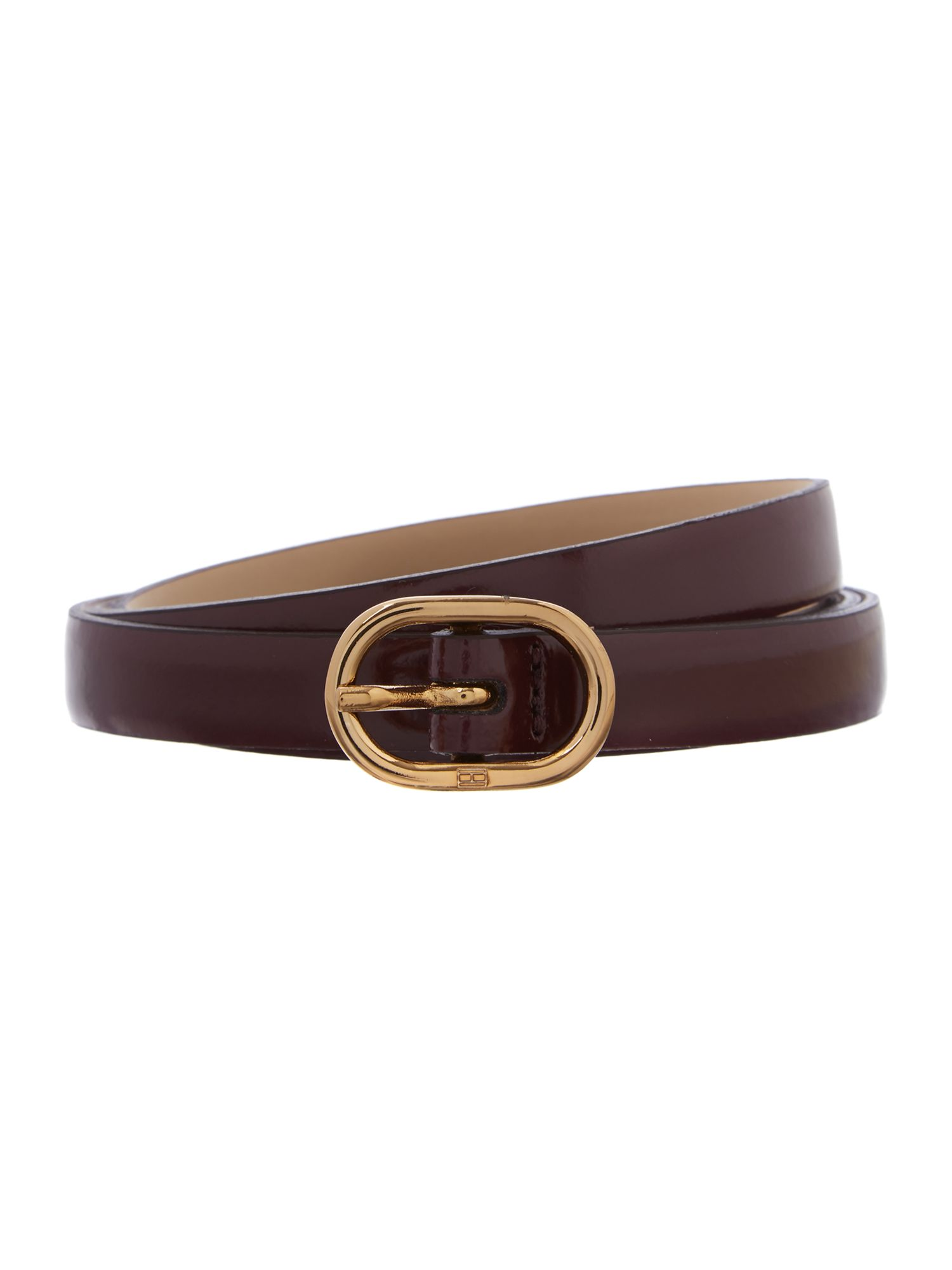 Tinsley red skinny waist belt