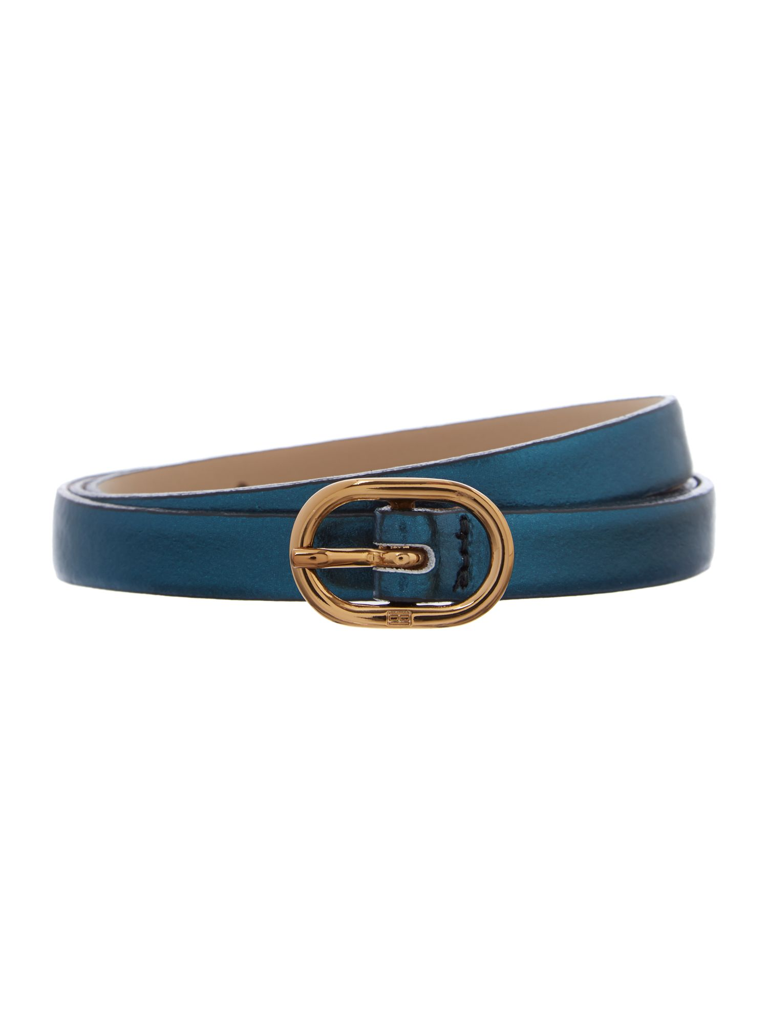Tinsley green skinny waist belt