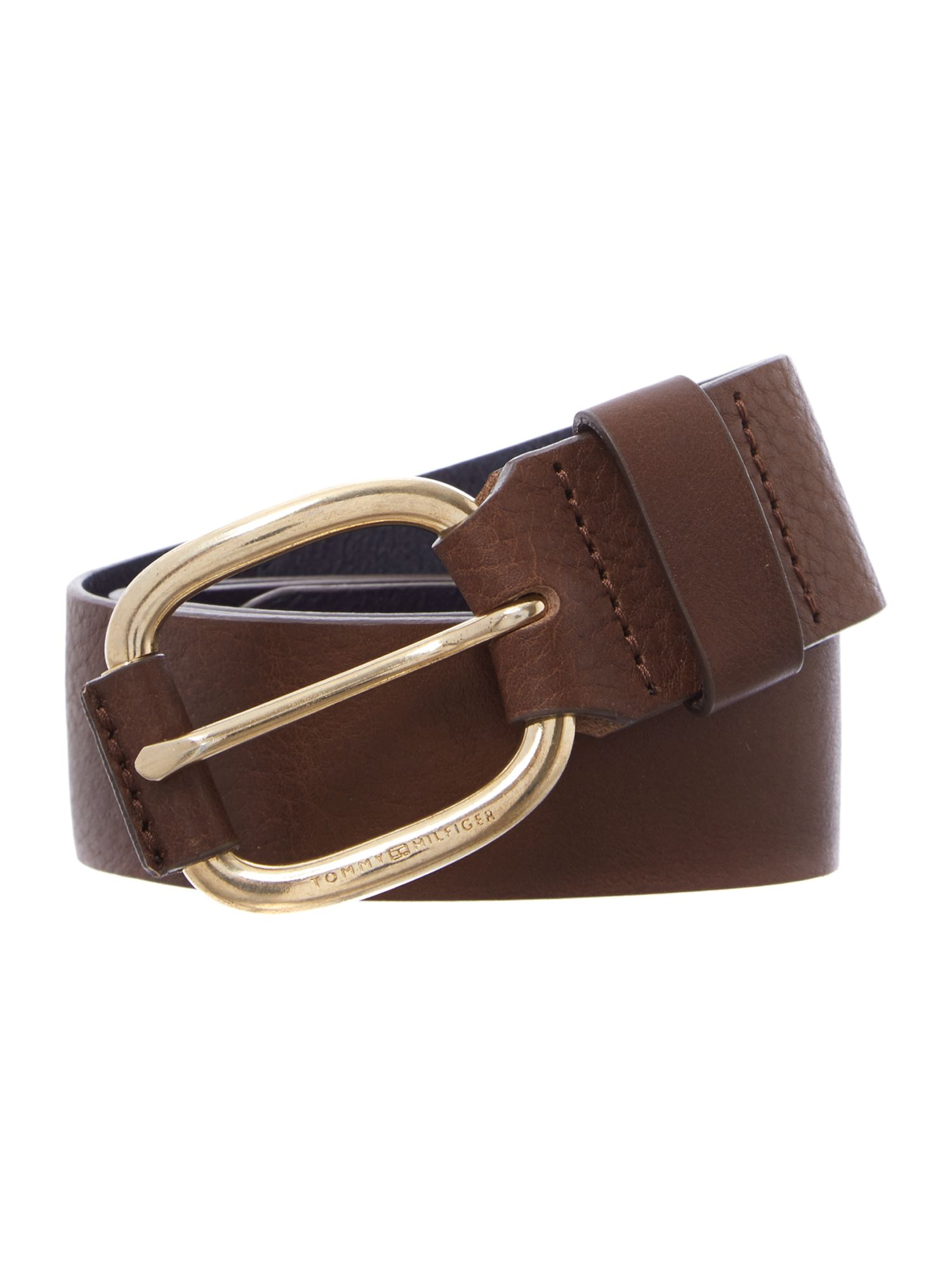 Whitney brown jeans belt