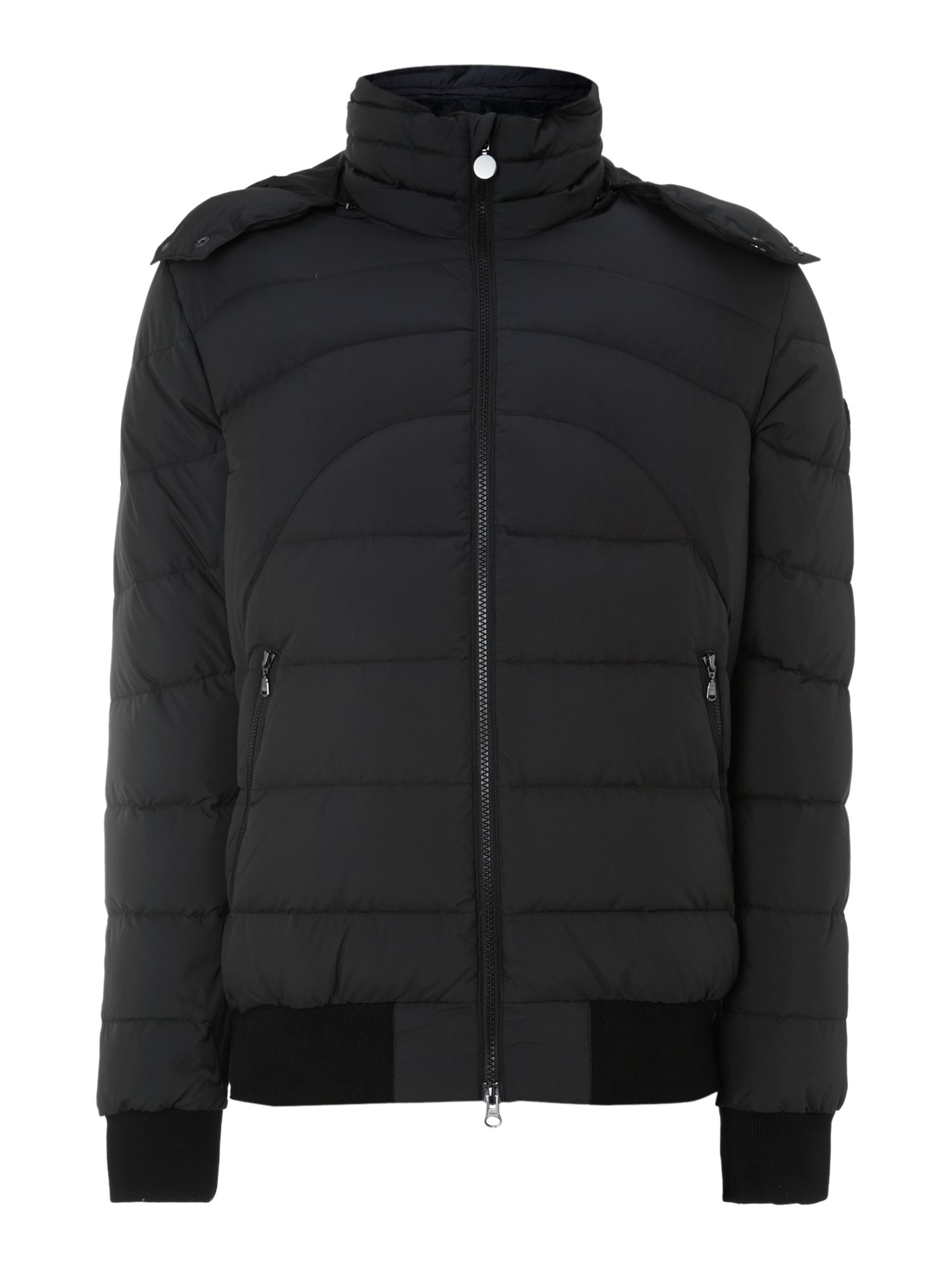 Mountain chalet down jacket