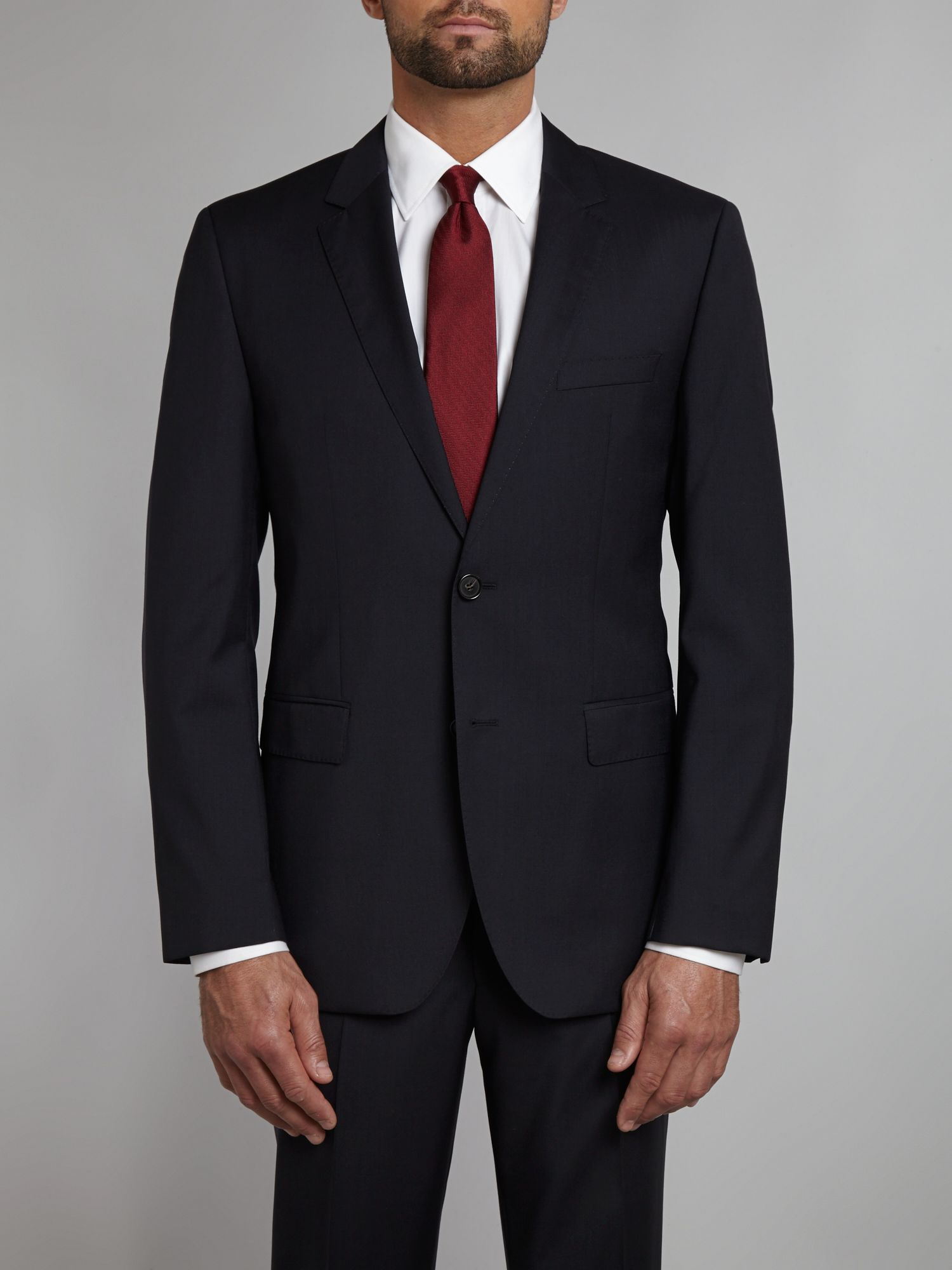 The Rider regular fit suit jacket