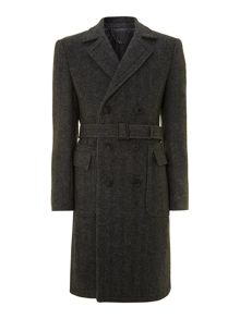 Prohibition herringbone coat