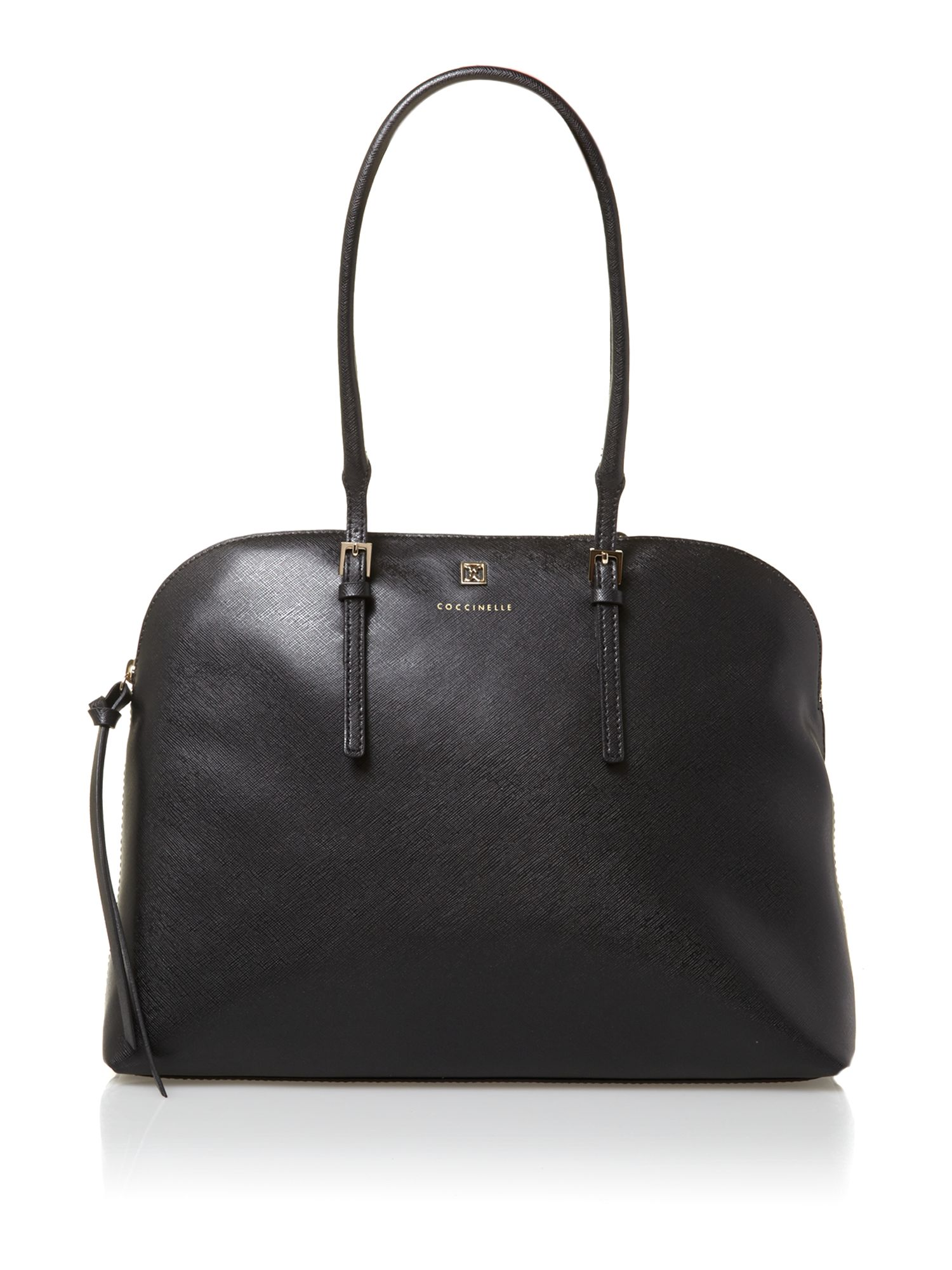 Betty black tote bag