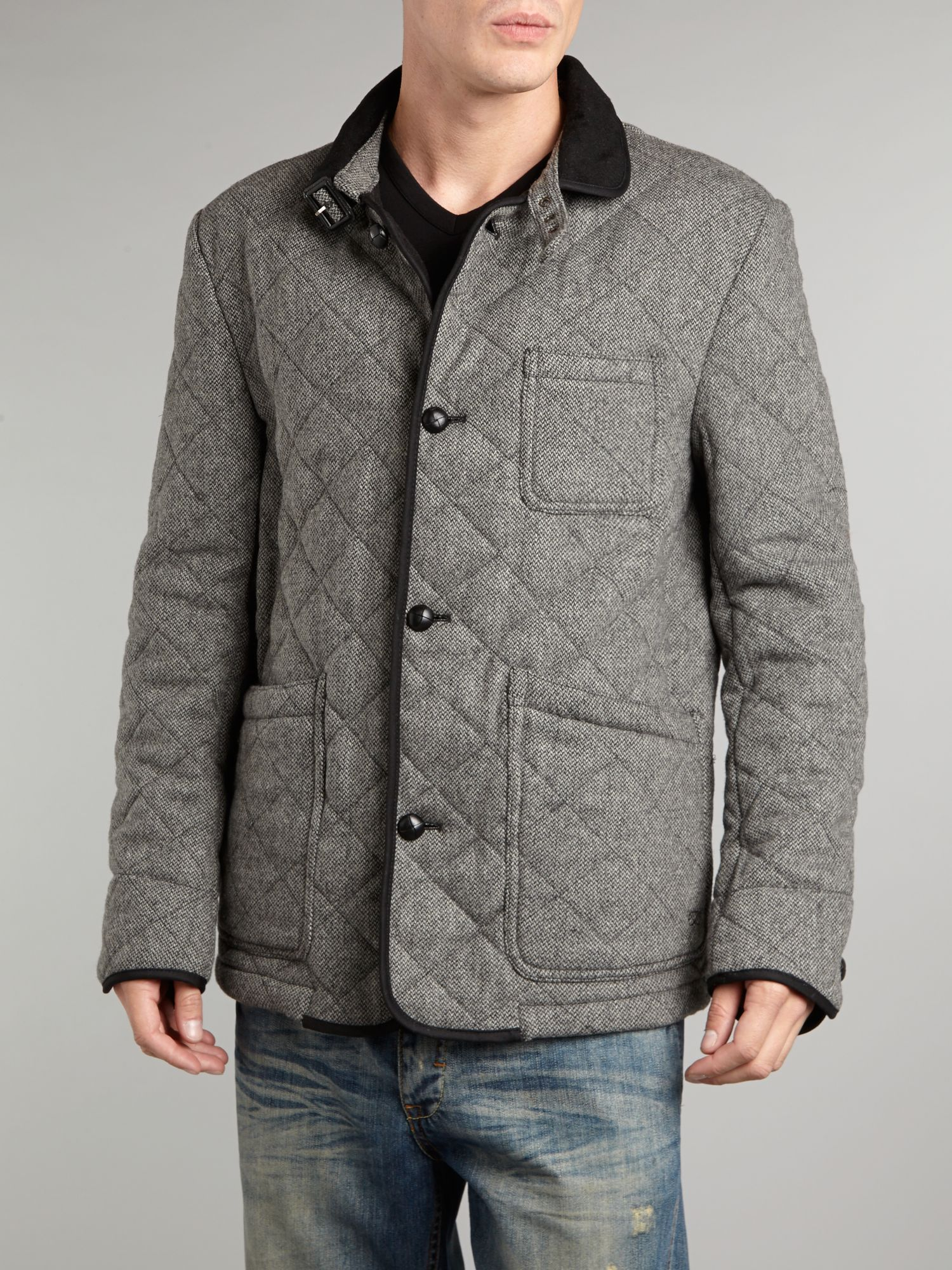Quilt barn tweed jacket