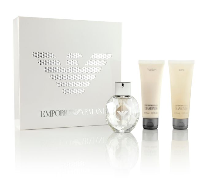 Emporio Armani Parfums Diamonds For Women Gift Set