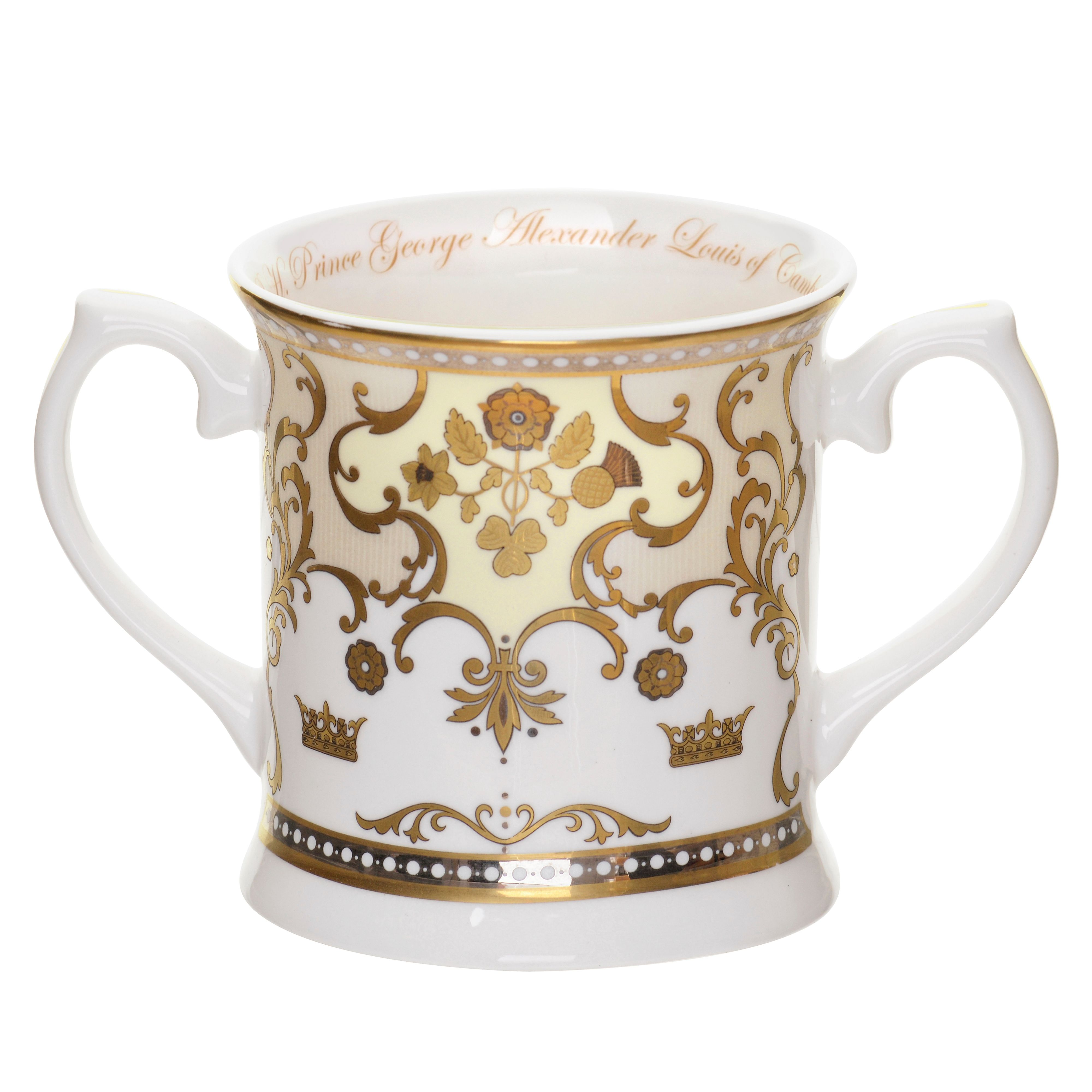 Royal baby tankard
