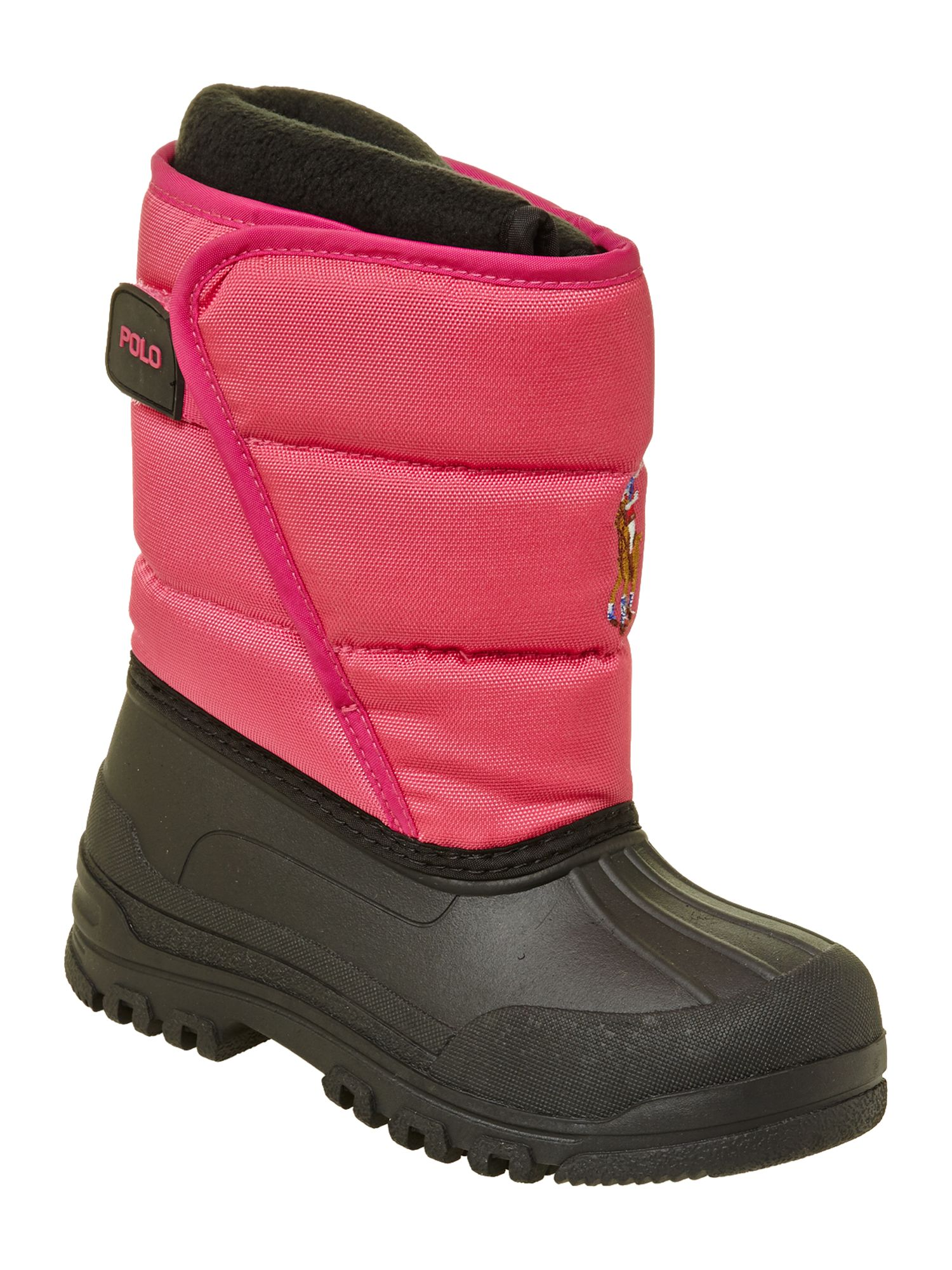 Girl`s snowboot