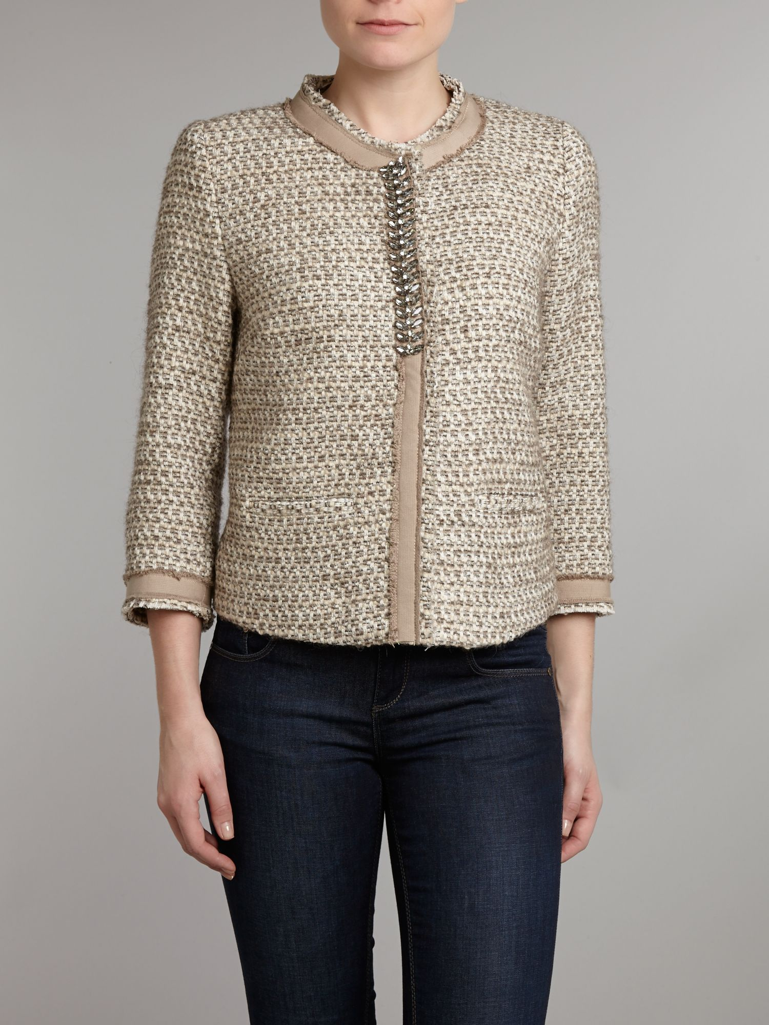 Tweed boucle jacket