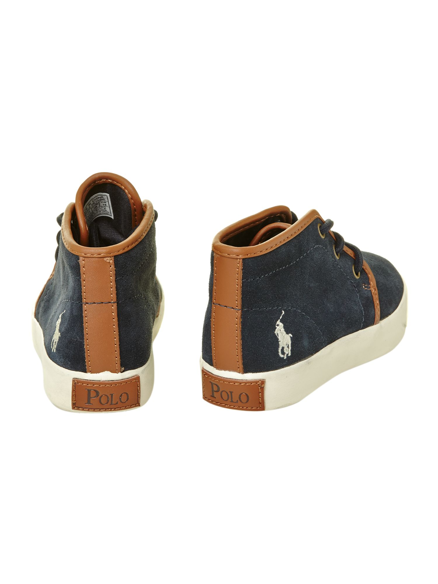 Boy`s leather desert boots
