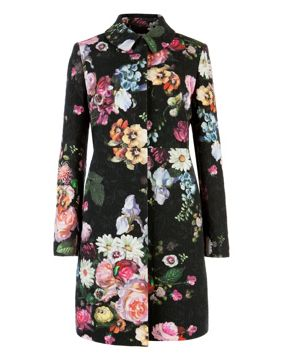 Ted Baker Floral Coat