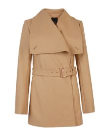 Adalya short wrap coat
