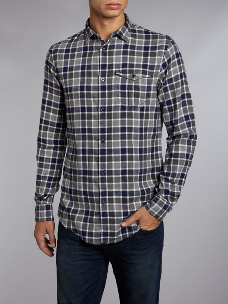 Armani Jeans Flannel check shirt