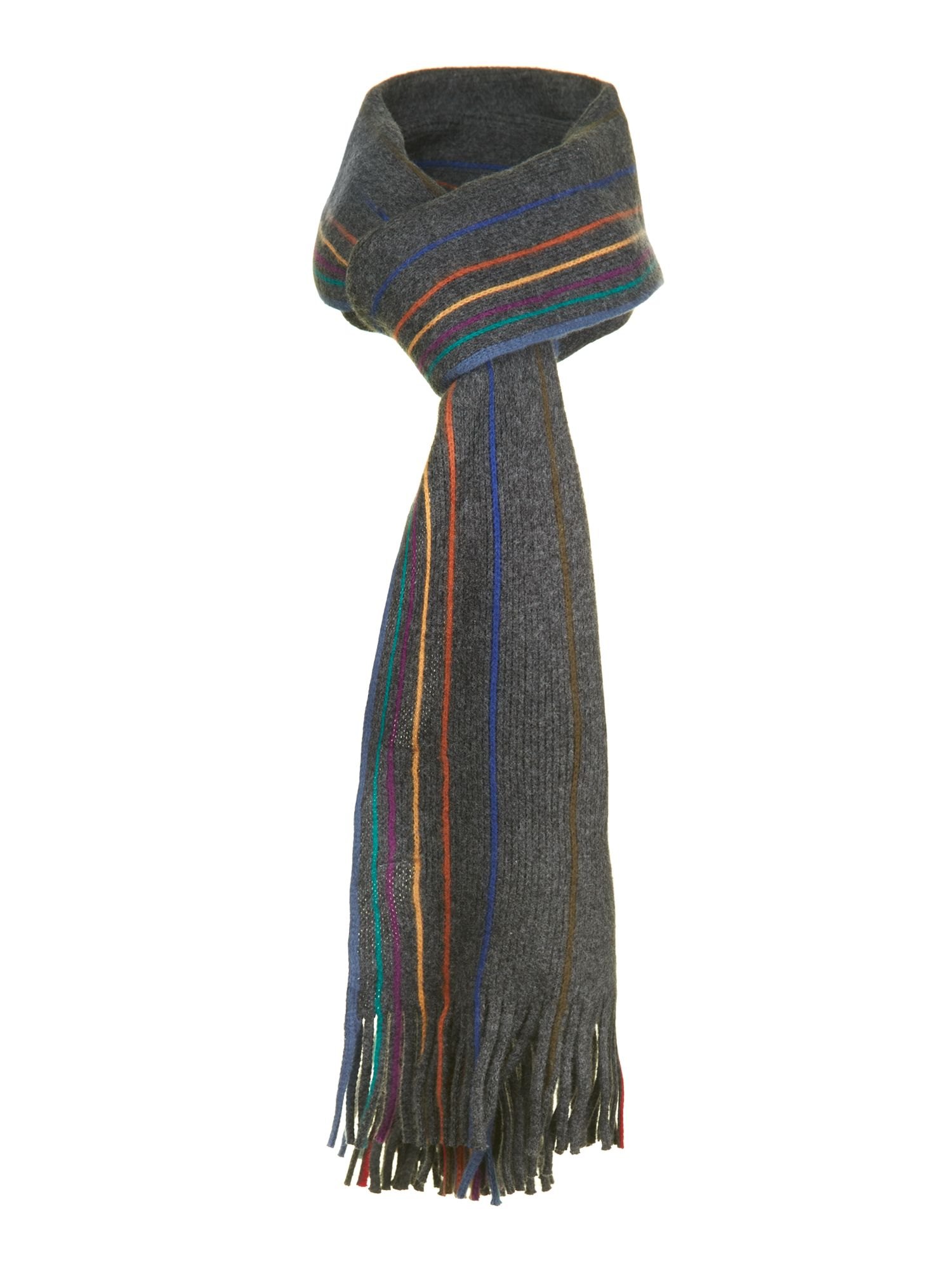Reversible plain scarf