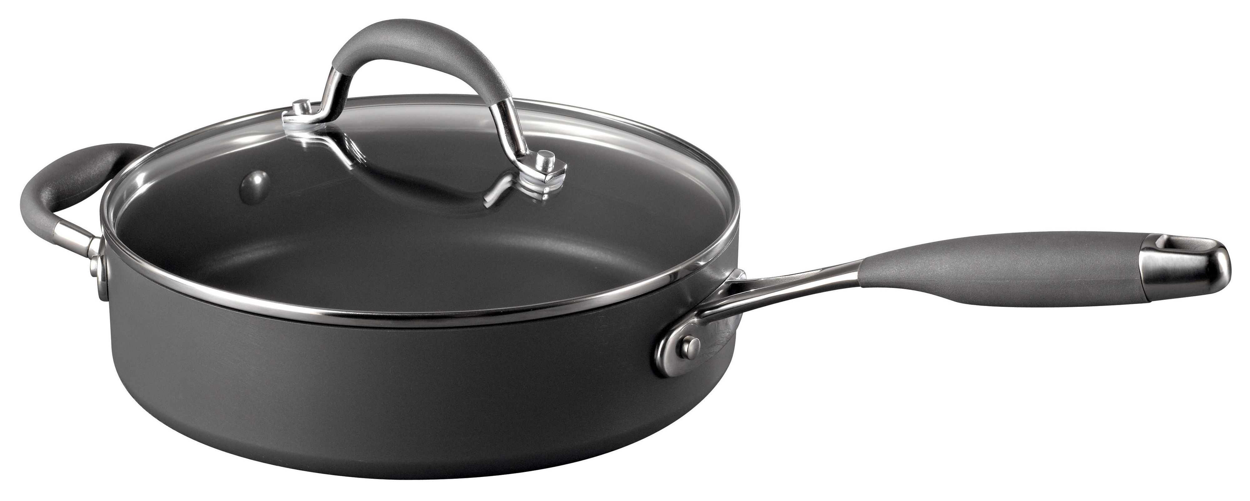 24cm Covered saute pan