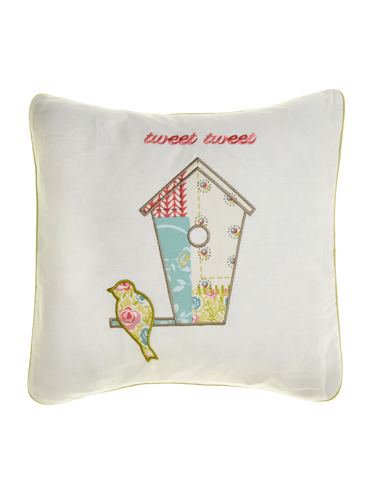 Tweet Spring cushion