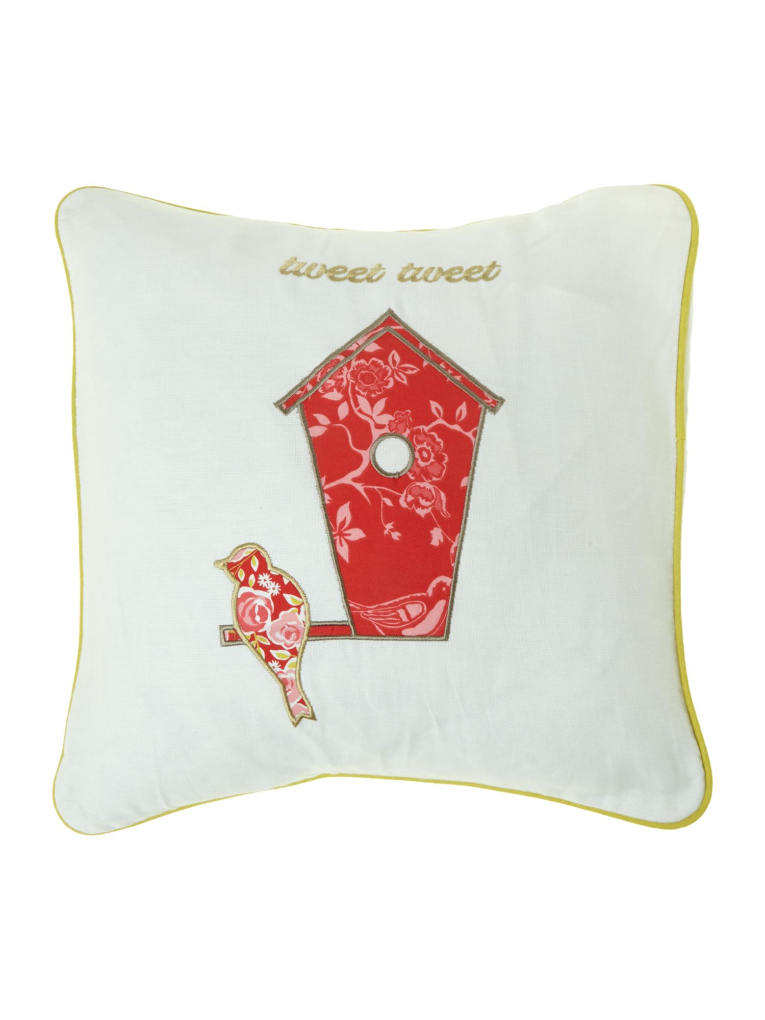 Tweet strawberry cushion