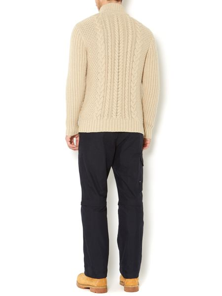 Army & Navy Trekker cable knit jumper