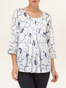 Molly floral print blouse