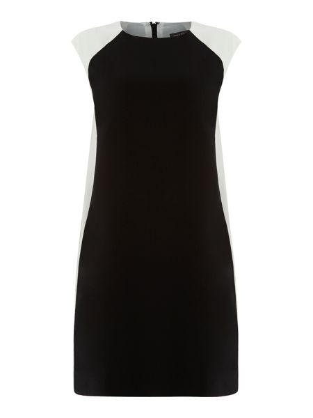 Pied a Terre Blocked cocoon dress