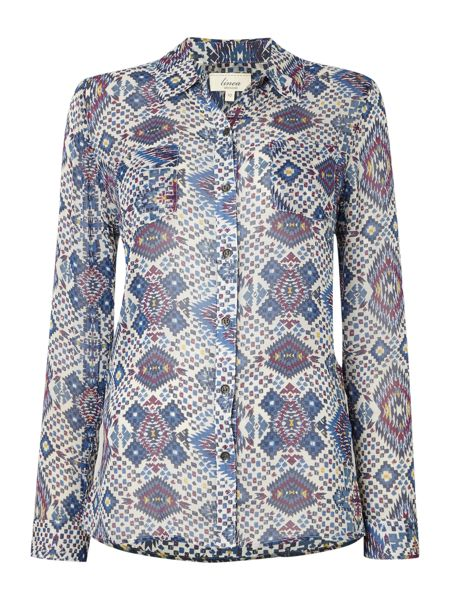 Linea Weekend Chelly print shirt
