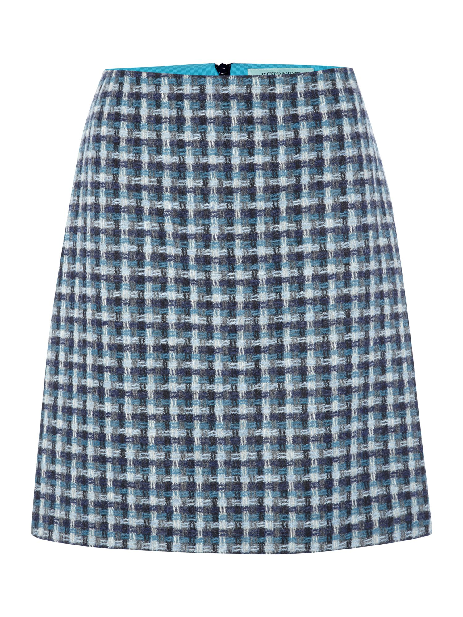 British wool pattern skirt