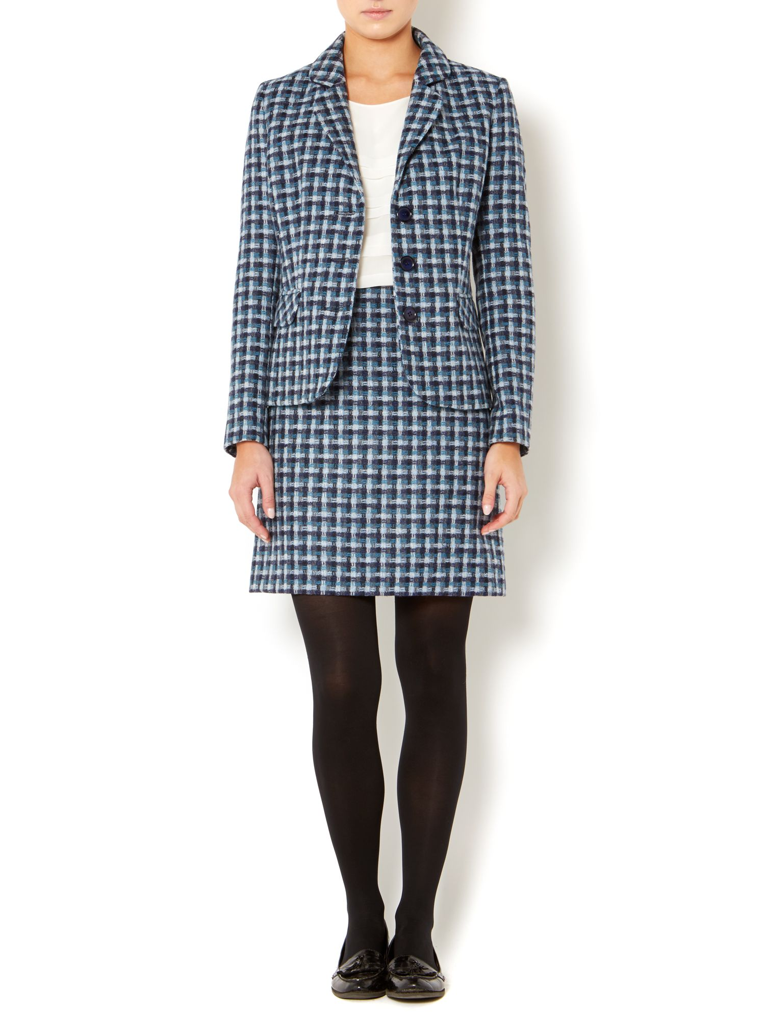 British wool pattern jacket