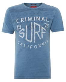 Aztec Surf Graphic Tee