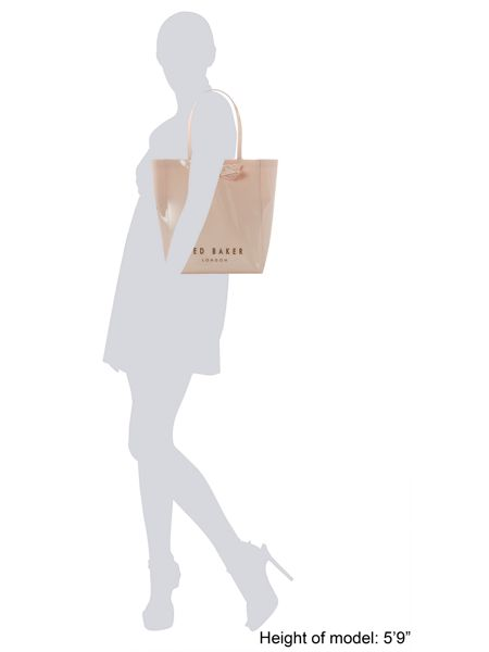 Ted Baker Medium neutral bow gem icon tote bag