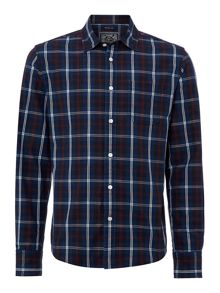 Maddison check long sleeved shirt