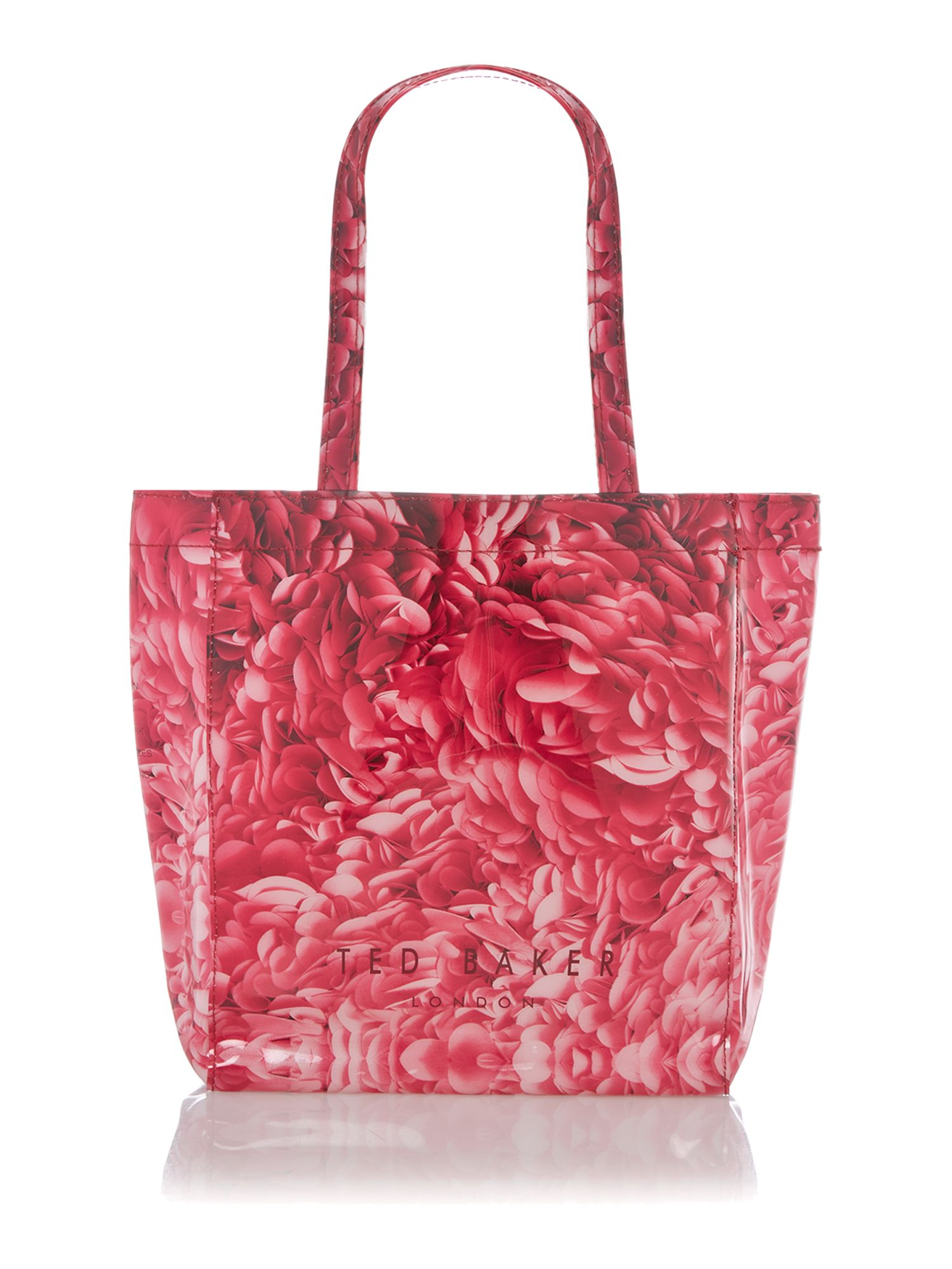 Exclusive rosette printed small icon tote bag