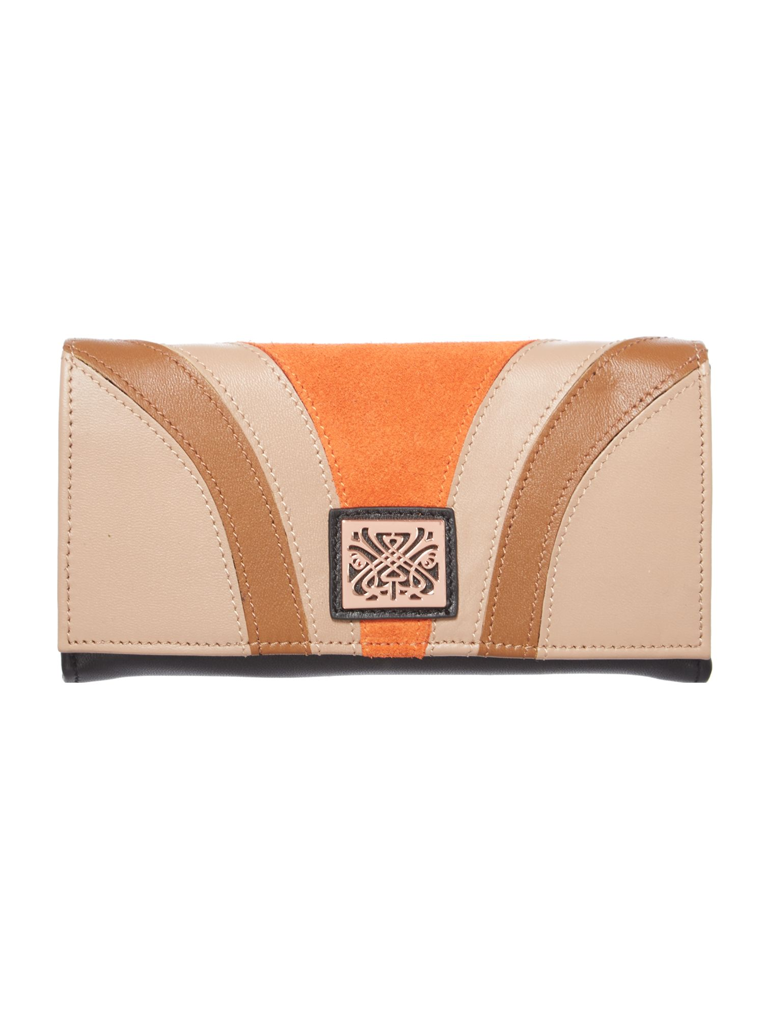 Honor flap over purse