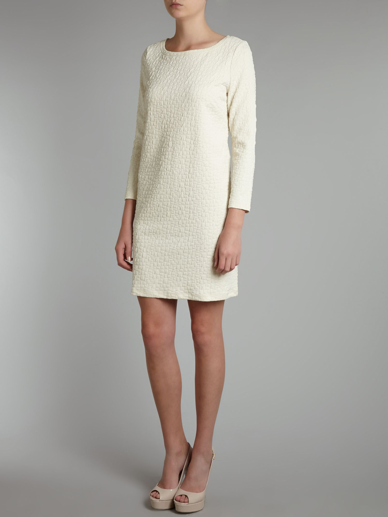 Edel 3/4 sleeve shift dress