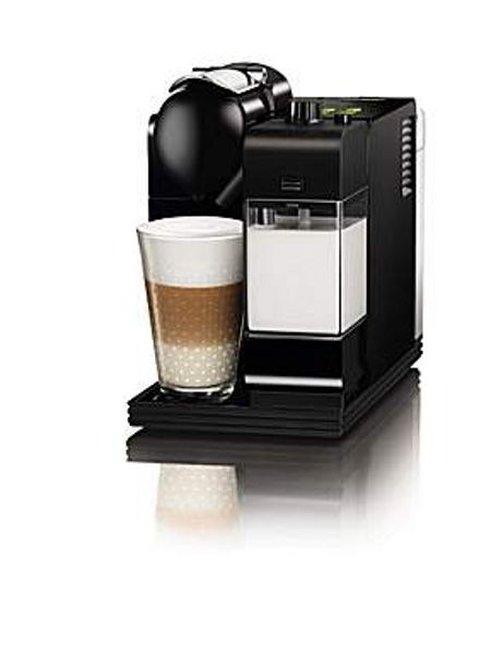 Delonghi Nespresso Lattissima Plus Black with Gift