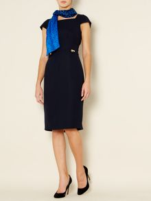 Susan buckle trim dress