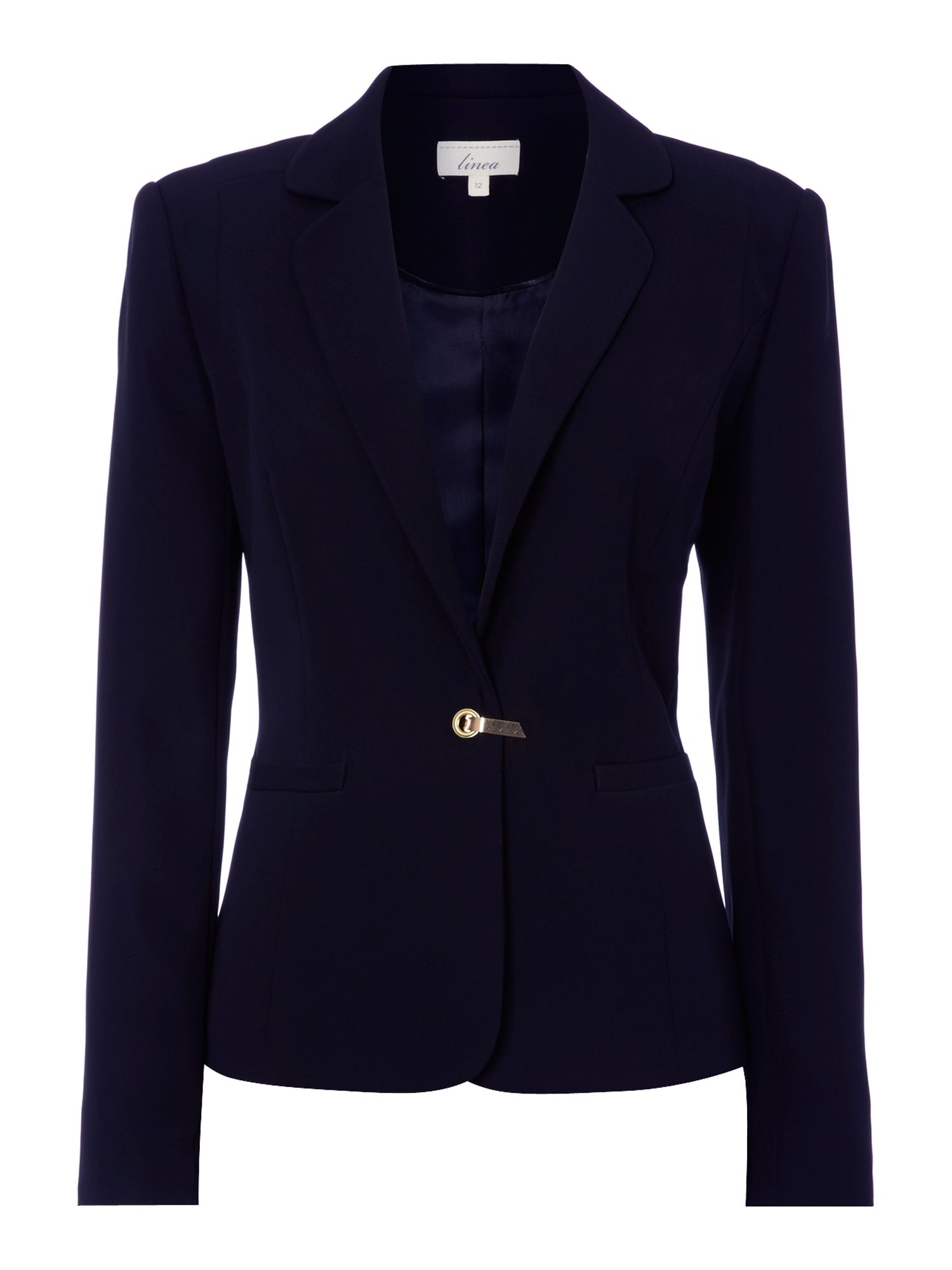 Susan buckle trim jacket