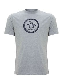 Original Penguin Distressed logo t shirt