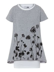 Girl`s short sleeve tunic