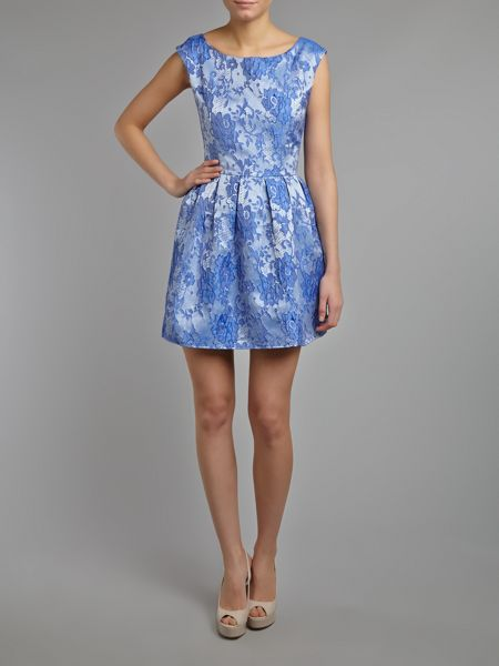 Glamorous Floral lace shift dress