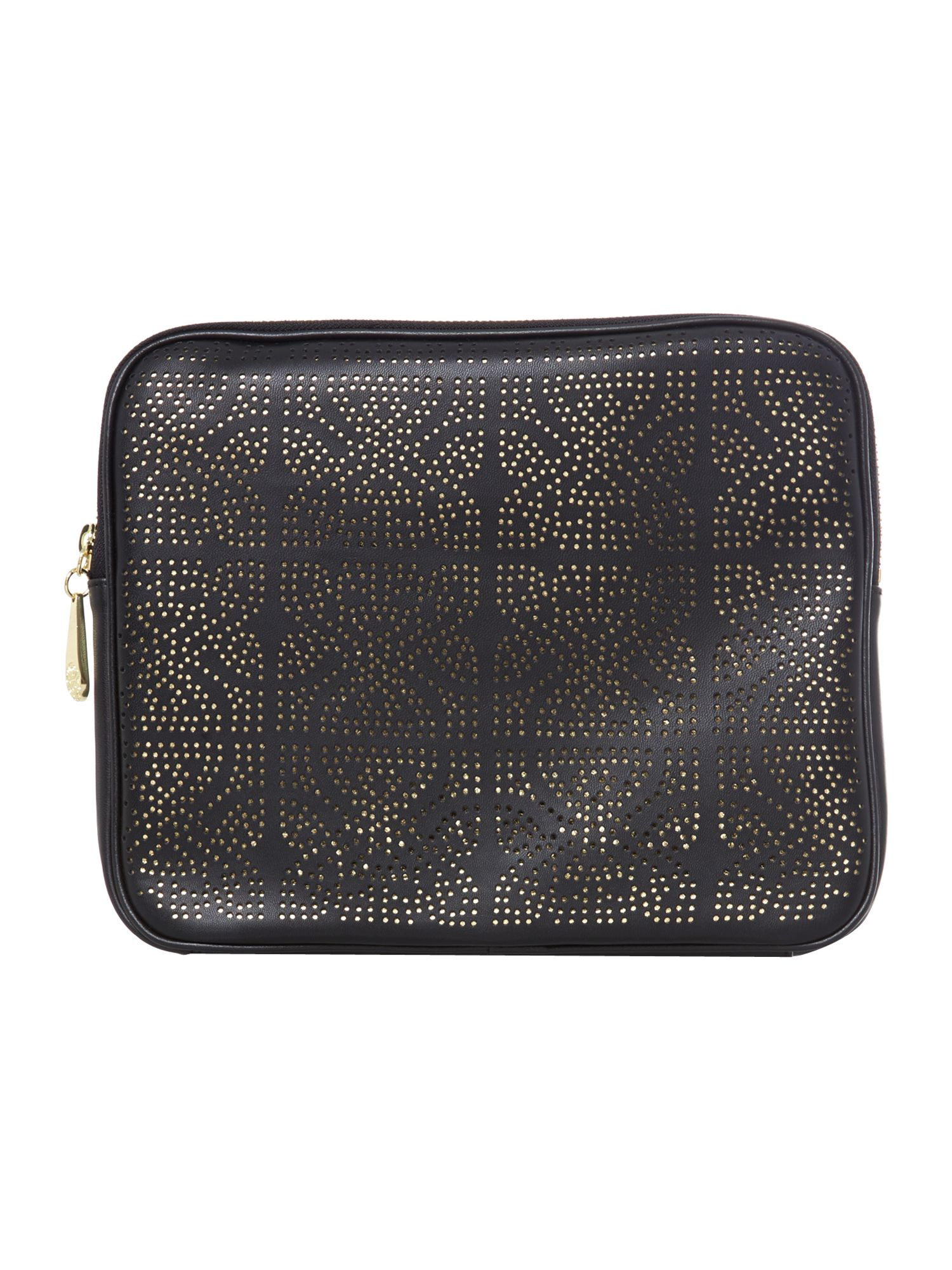 Perforated tablet case