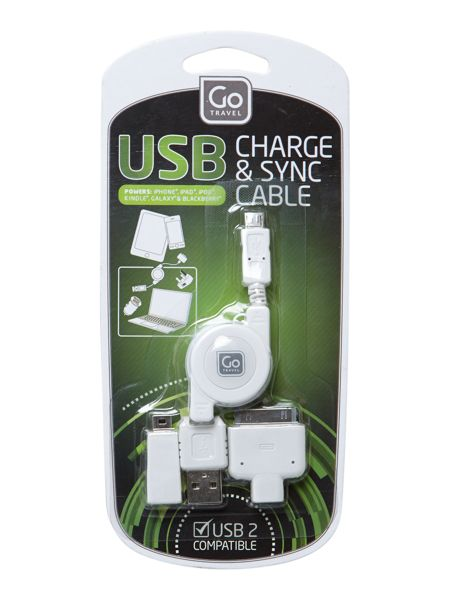 Go Travel USB 43 charging cable set